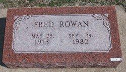 Fred Rowan