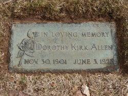 Dorothy Berkley <i>Kirk</i> Allen