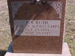 Iva Ruth <i>Callahan</i> Capps