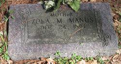 Zola M. <i>Stanley</i> Manus