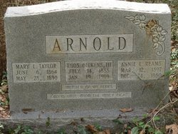 Annie L. <i>Reams</i> Arnold