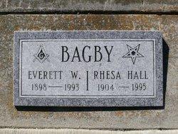 Rhesa Elizabeth <i>Hall</i> Bagby