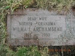 Wilma Louise Minnie <i>Socall</i> Archambeau
