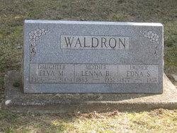 Edna S Waldron