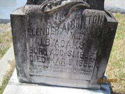 Elender <i>Albritton</i> Adams
