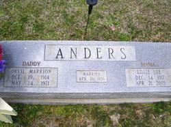 Lillie Lue <i>Lindley</i> Anders