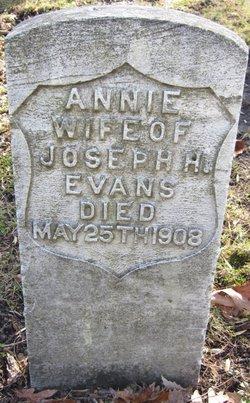 Sarah Anna Annie <i>Stewart</i> Evans