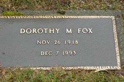 Dorothy May <i>Bull</i> Fox