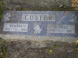 Wealtha Pat <i>Gettys</i> Custer