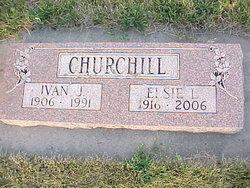 Elsie Louise <i>Obert</i> Churchill