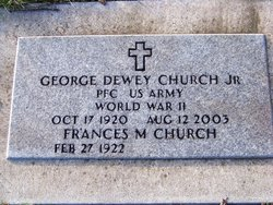 George Dewey Church, Jr