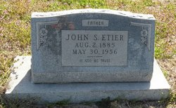 John Seaf <i>Bud</i> Etier