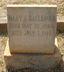 Mary Amerylus <i>Booker</i> Ballenger