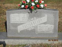 Fannie M Bishop