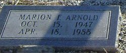 Marion F. Arnold