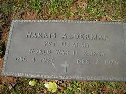 Pvt Harris Alderman