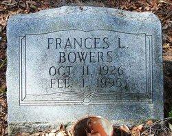 Frances L Bowers