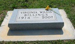 Virginia Amy <i>Lineberry</i> Billings