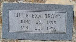 Lillie Exa Brown