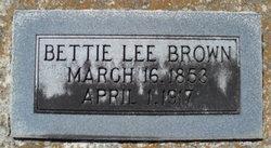 Elizabeth Lee Bettie <i>Fountain</i> Brown