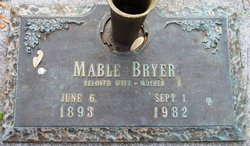 Mable <i>Stanley</i> Bryer