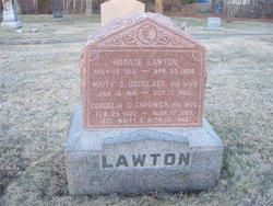 Waity E <i>Lawton</i> Aldrich