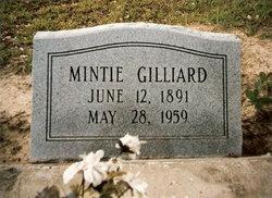 Arminta Lee Mintie <i>Davis</i> Gilliard