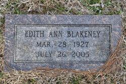 Edith Ann Blakeney
