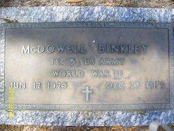 McDowell Binkley