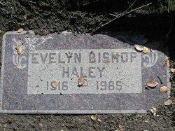 Evelyn Leavitt <i>Bishop</i> Haley
