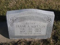 Frank A Adelson