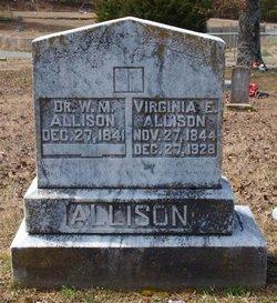 Virginia Elizabeth <i>Vance</i> Allison