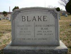 Mamie <i>Gary</i> Blake