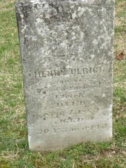 Henry Ulrich