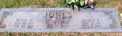 Pearl Lee Pearlie <i>Plunkett</i> Jones