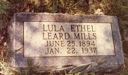 Mrs Lula Ethel <i>Leard</i> Mills
