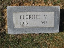 Virginia Florence Florine <i>Hilliard</i> Cubbage