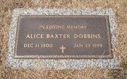 Alice <i>Baxter</i> Dobbins