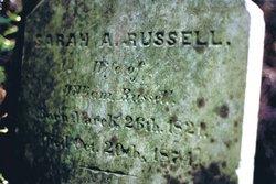 Sarah Ann <i>Wallis</i> Russell