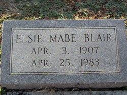 Elsie <i>Self</i> Mabe Blair