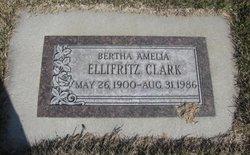 Bertha Amelia <i>Ellifritz</i> Clark