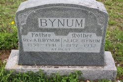 Rev Asa Byron Bynum
