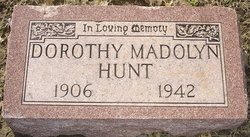 Dorothy Madolyn Hunt