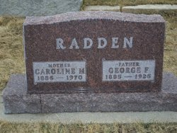 George Fred Radden