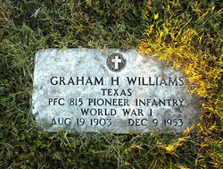 Graham Henry 'Uncle Sweets' Williams