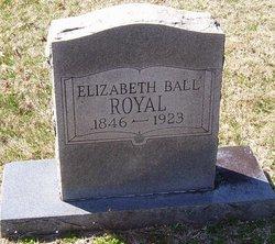 Elizabeth Jane <i>Ball</i> Royal