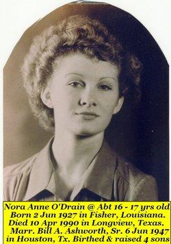 Nora Anne Ashworth