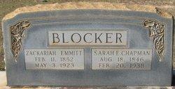 Sarah Elizabeth <i>Chapman</i> Blocker