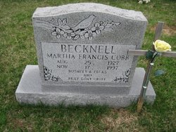 Marsha F <i>Cobb</i> Becknell