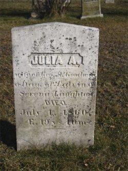 Julia A <i>Laughton</i> Goodwin